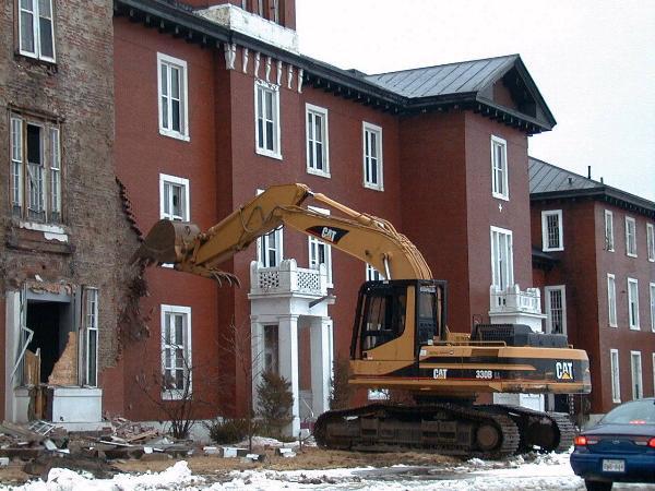 window demolition