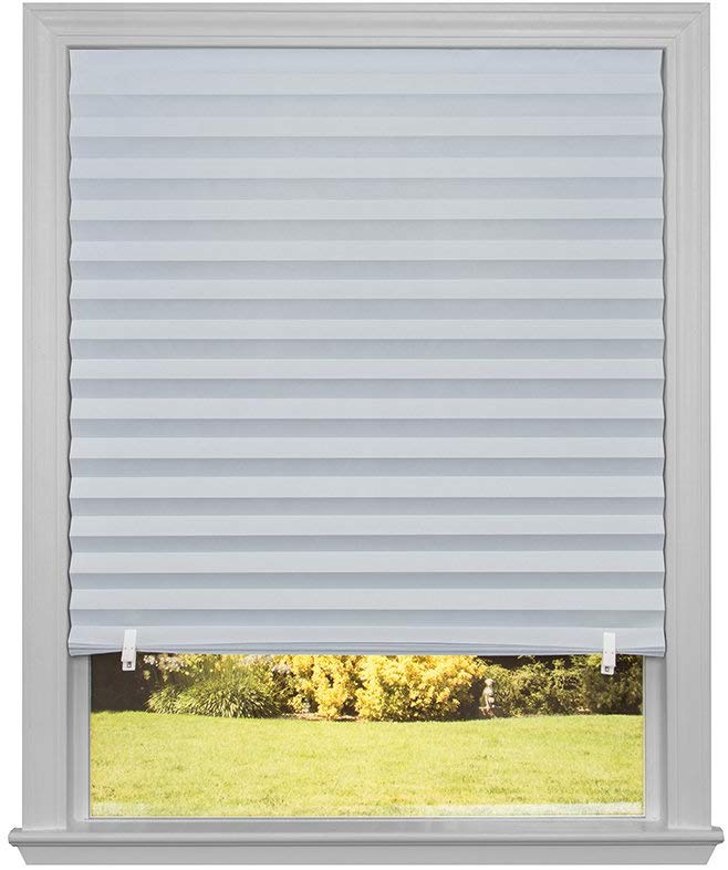 Redi Shade 3242642 White Temporary Window Shades, 48-by-90-Inch, 2-Pack